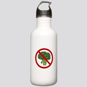 No Broccoli Stainless Water Bottle 1.0L